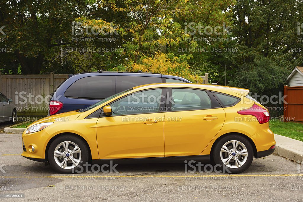 Ford Focus royalty-free stock photo