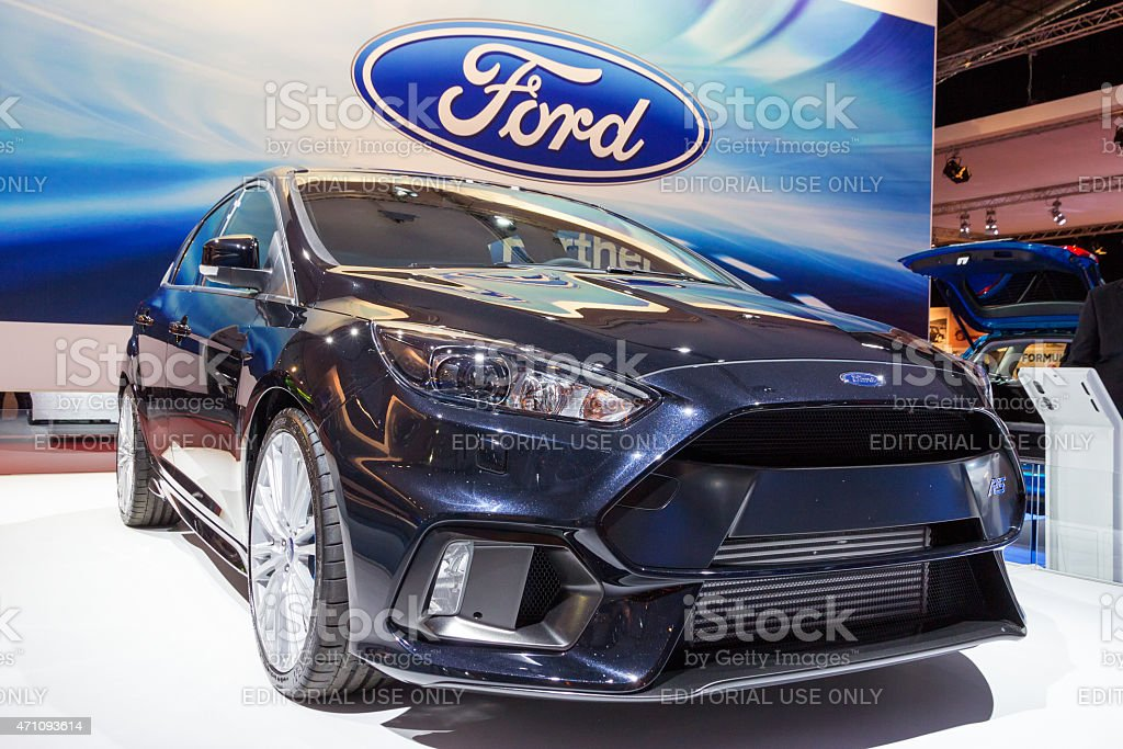 Ford Focus stock photo