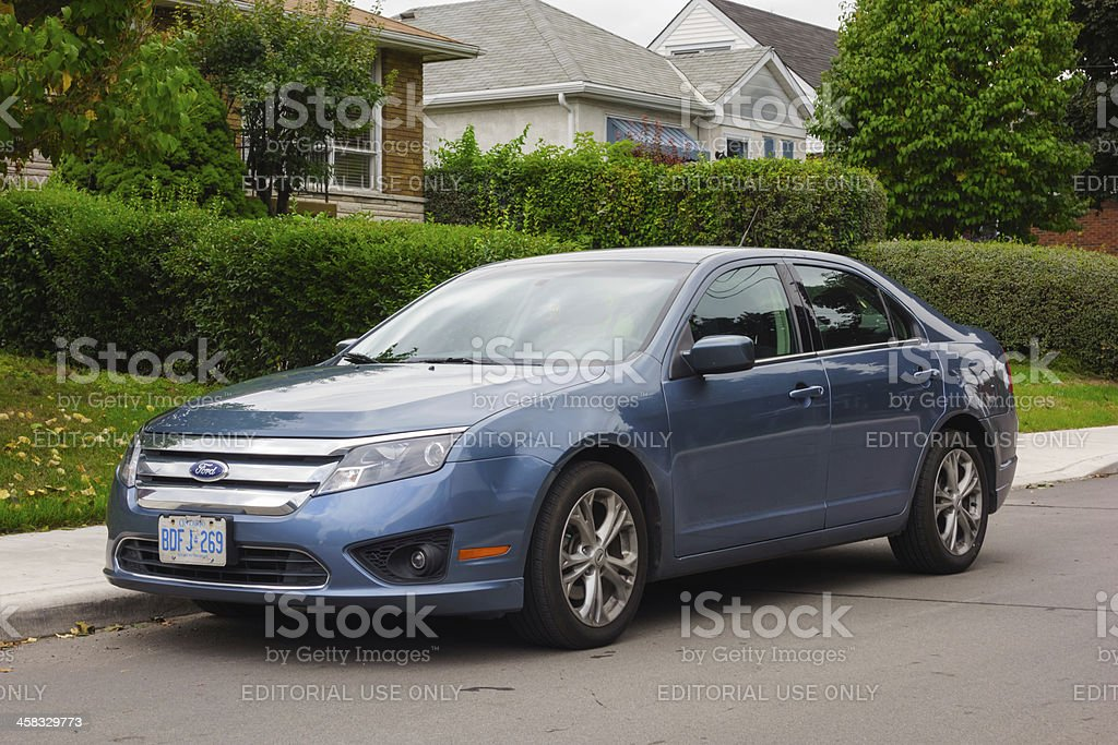 Ford Fusion royalty-free stock photo
