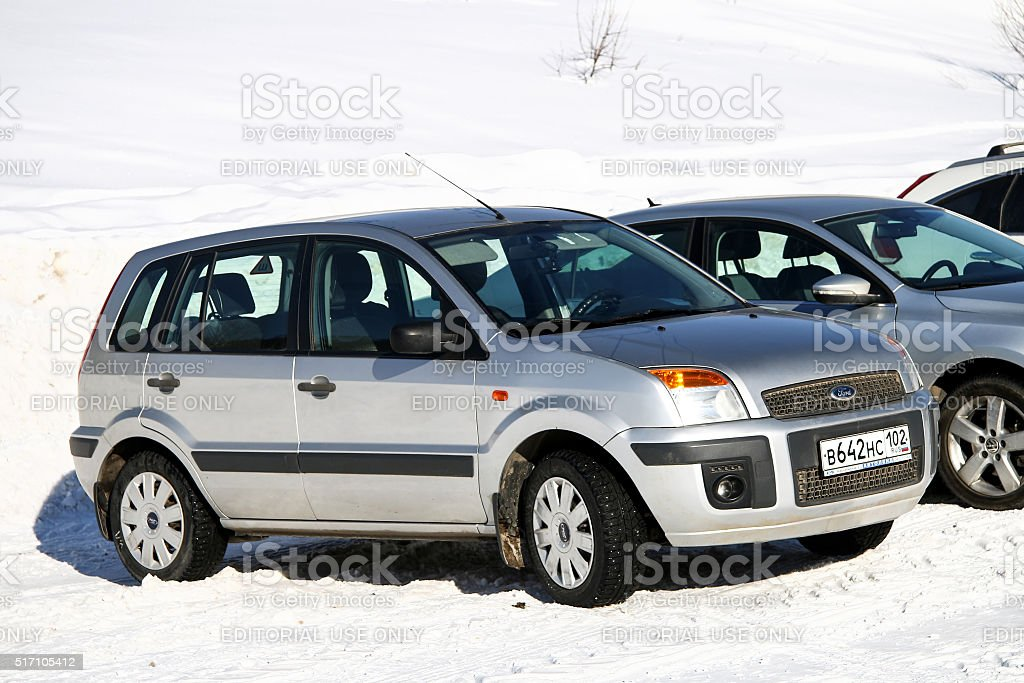 Ford Fusion stock photo
