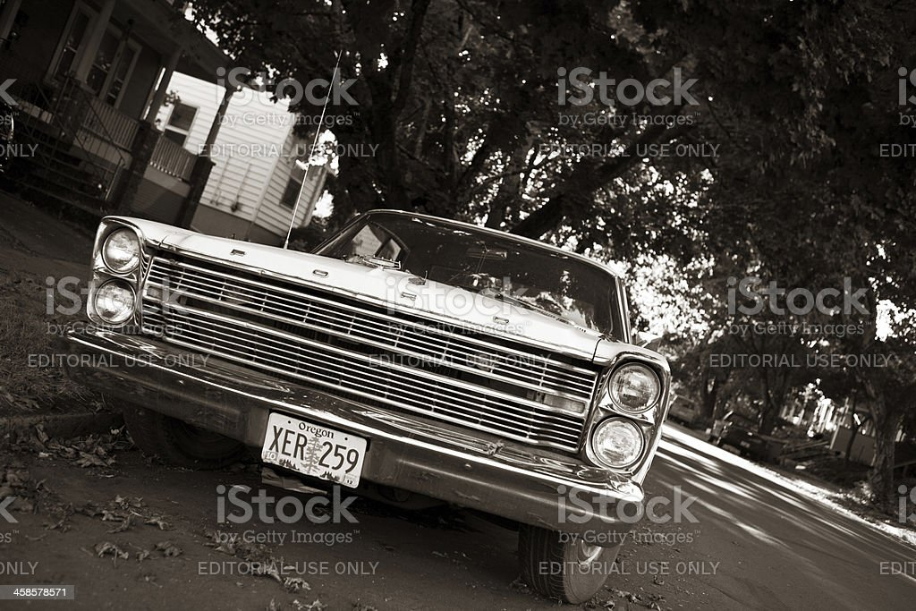 1966 Ford Galaxie 500 stock photo
