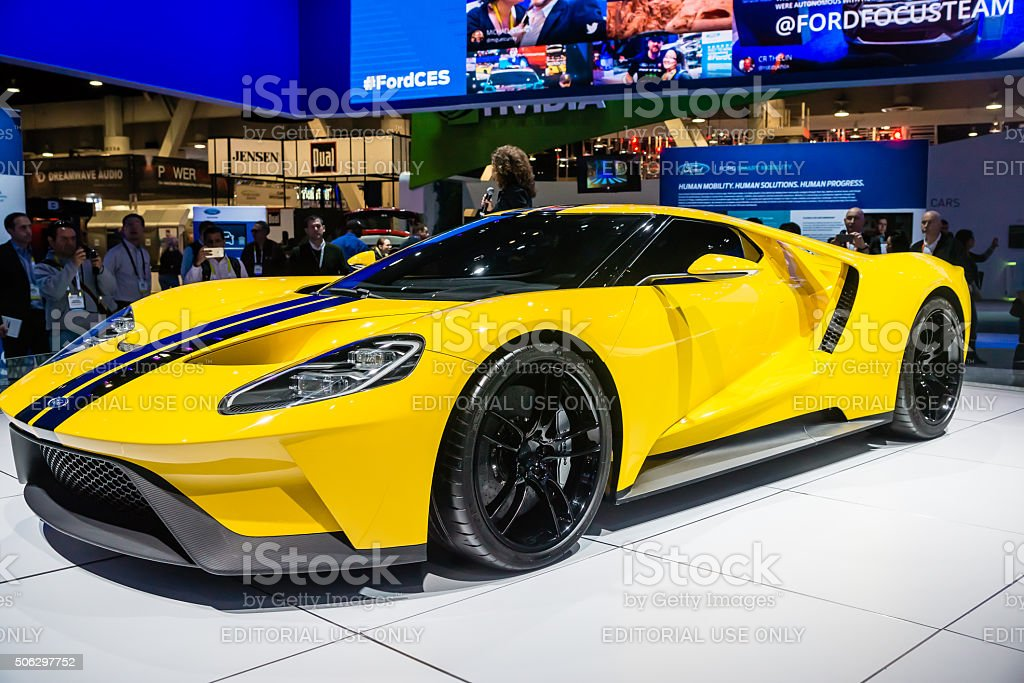 Ford GT 600 Supercar stock photo