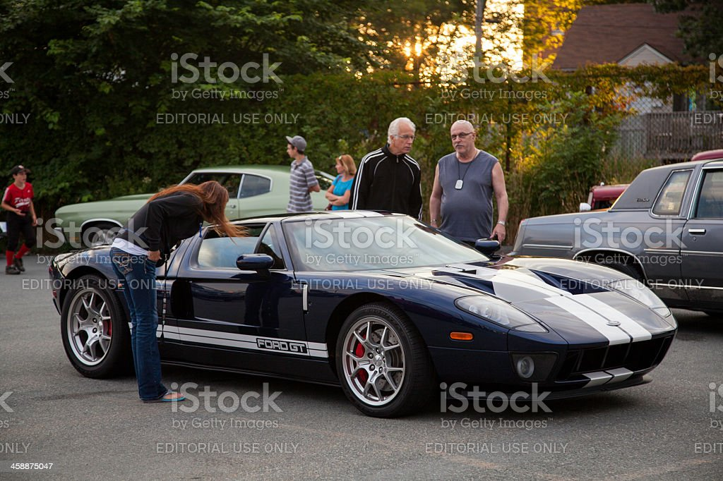 Ford GT royalty-free stock photo