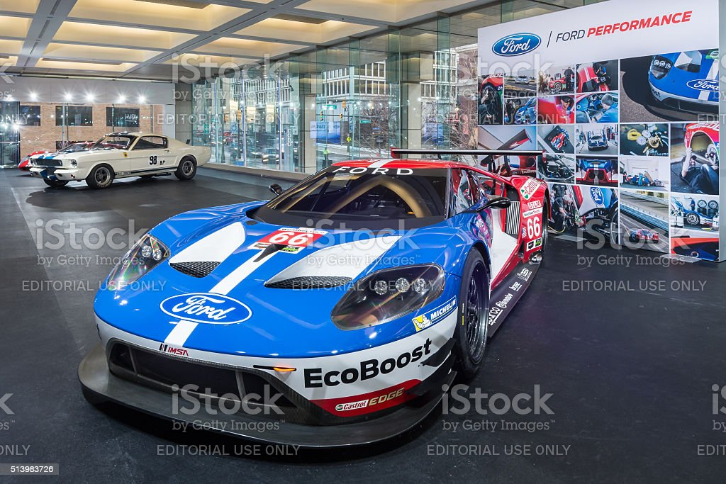 2016 Ford GT stock photo