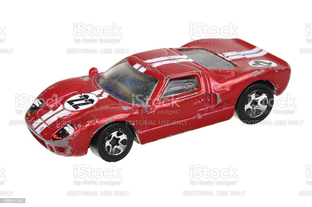 1999 Ford GT-40 Hot Wheels Diecast Toy Car stock photo