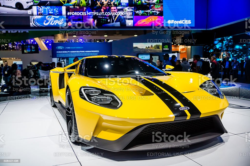 Ford GT-600 Supercar stock photo