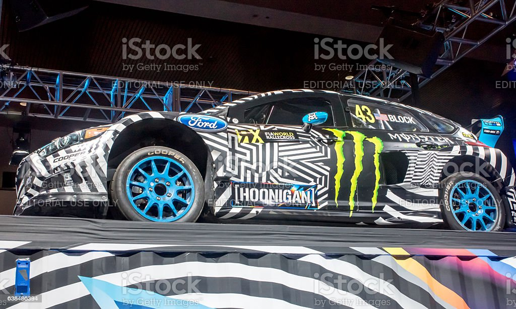 Ford Hoonigan Auto at CES 2017 stock photo