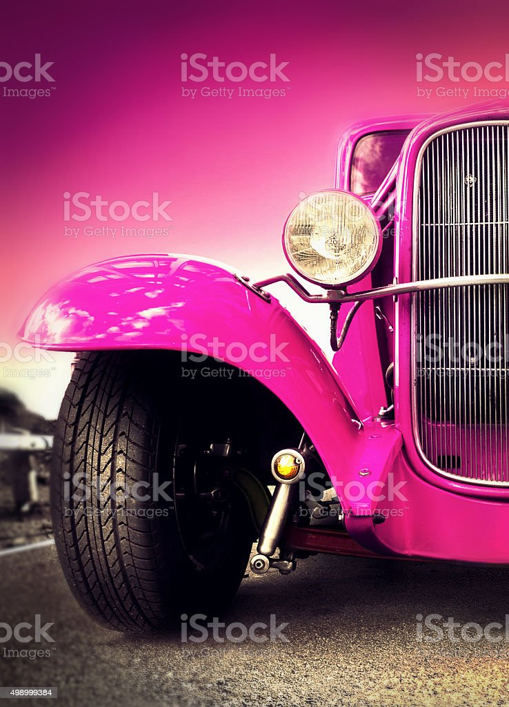Ford Hot Rod stock photo