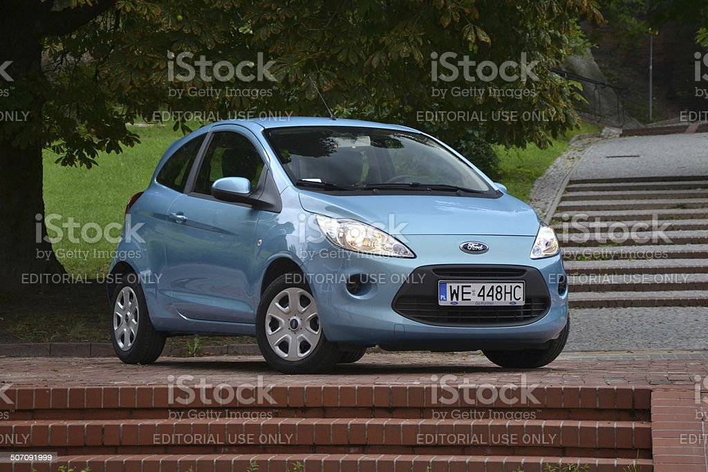 Ford Ka At The Street Royalty Free Stock Photo