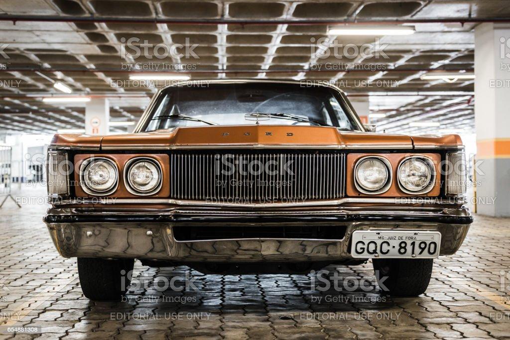 Ford Landau, parking stock photo
