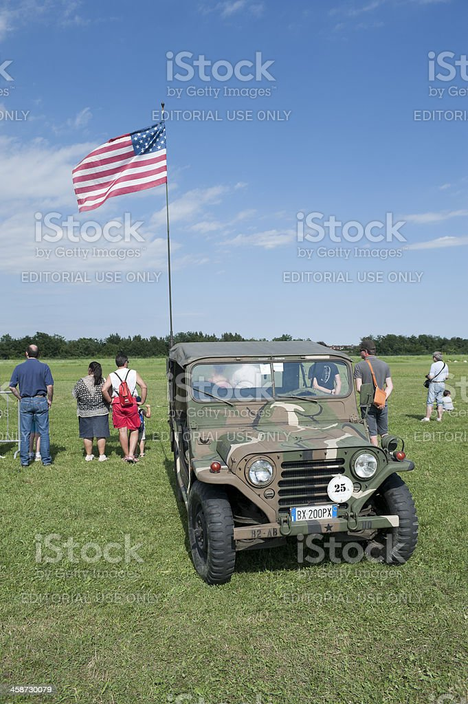 Ford M151 MUTT royalty-free stock photo