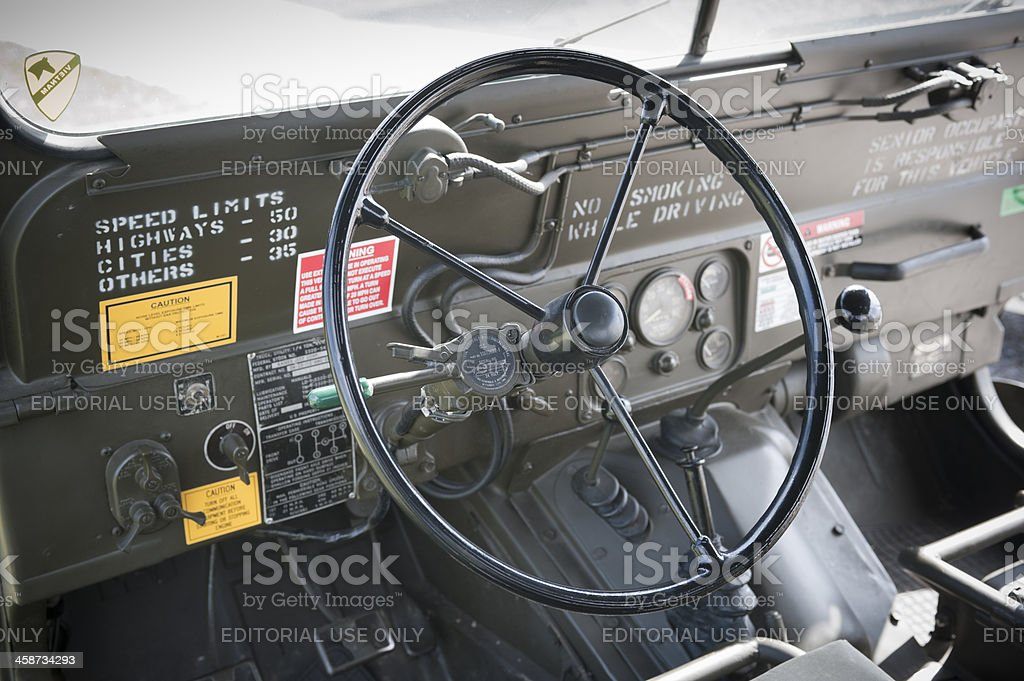 Ford M151 MUTT stock photo