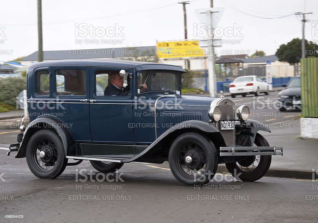 Ford model A from 1930 royalty-free stock photo