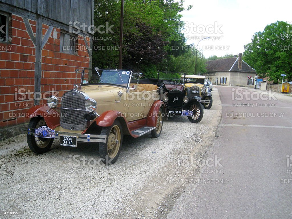 Ford Model A Phaeton royalty-free stock photo