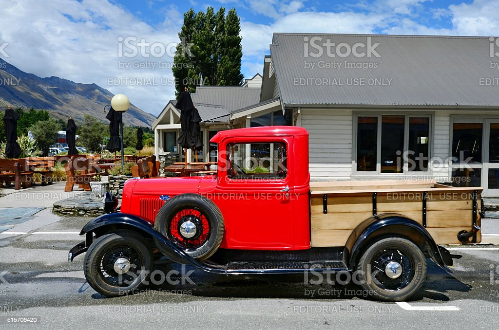 1930 Ford Model A Pickup stock photo