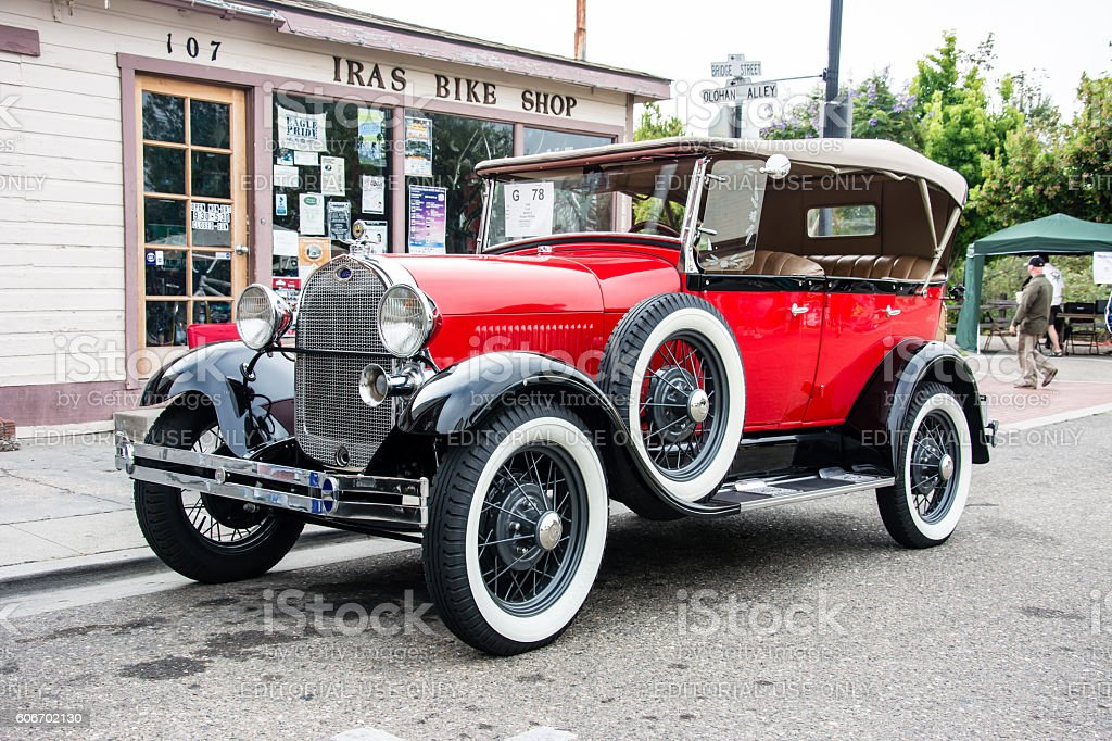 Ford Model A Touring Car stock photo