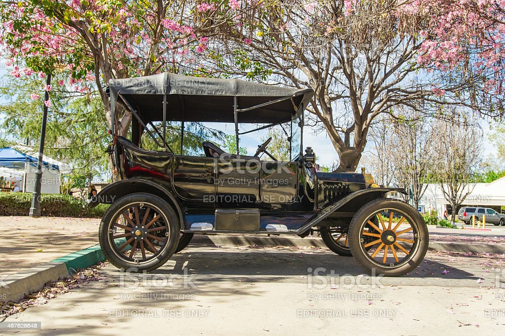 Ford Model T (1915) at Pi Day Car Show stock photo