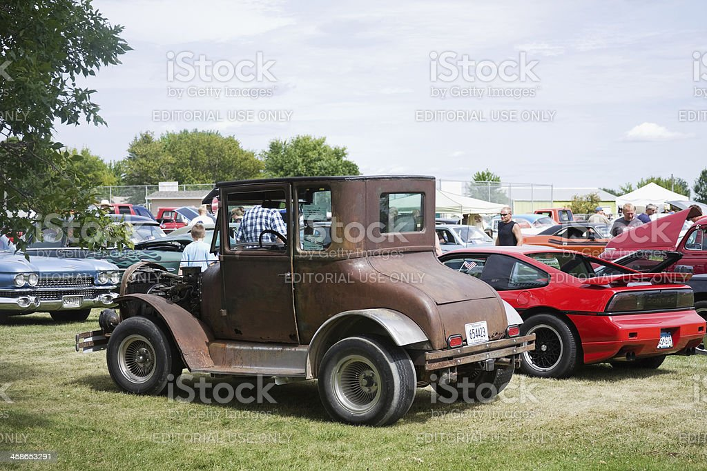 Ford Model T Coupe - 1927 stock photo