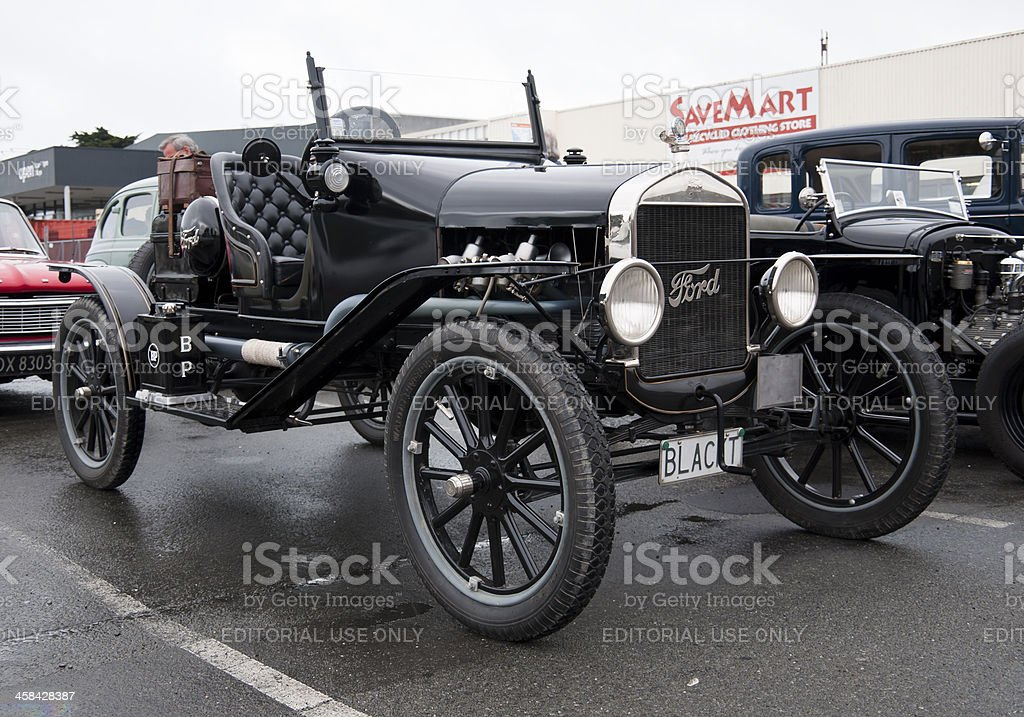 Ford model T from 1923 stock photo