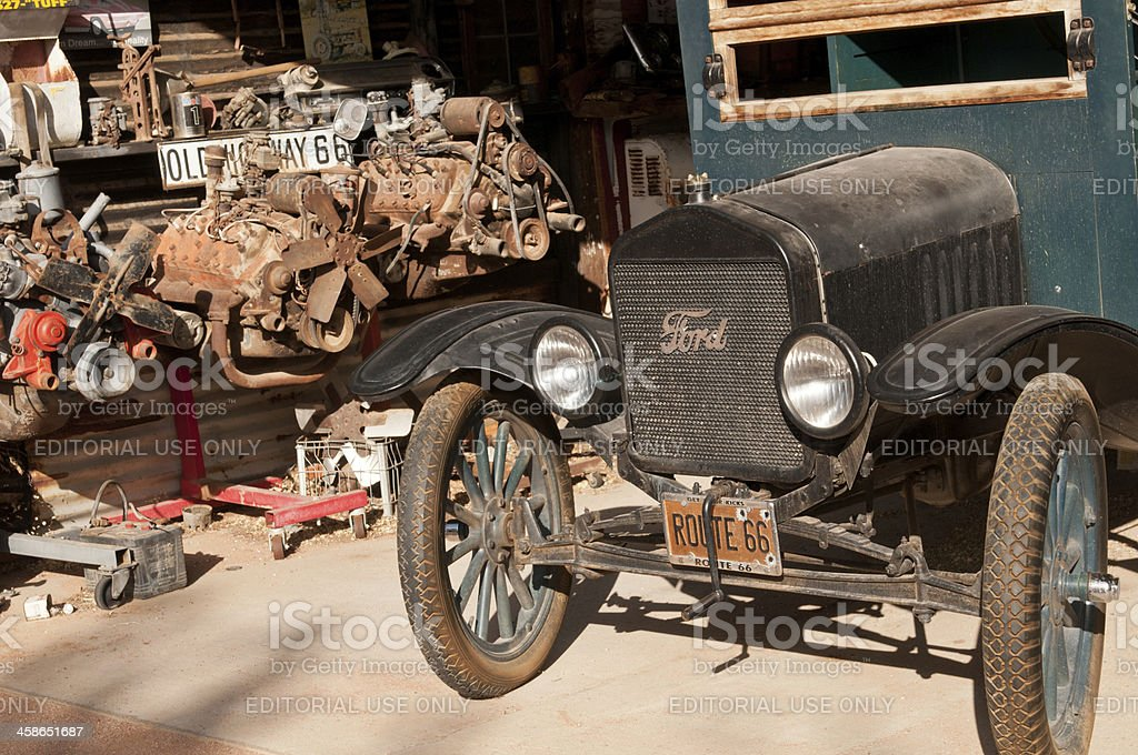 Ford Model T stock photo