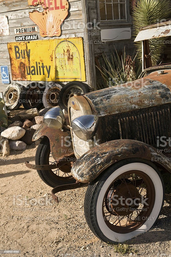 Ford Model T royalty-free stock photo