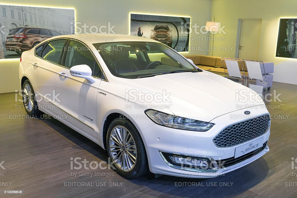 Ford Mondeo Viganale family car stock photo