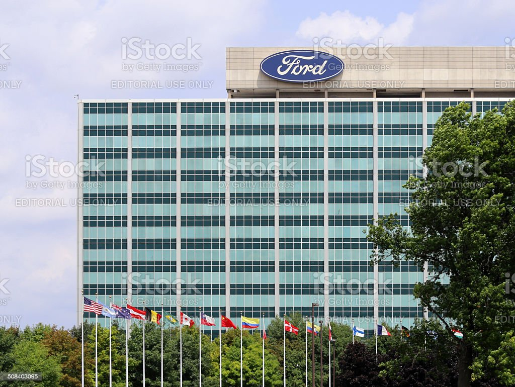 Ford Motor Company World Headquarters stock photo