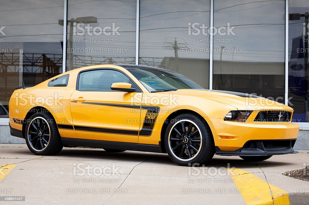 Ford Mustang Boss 302 stock photo