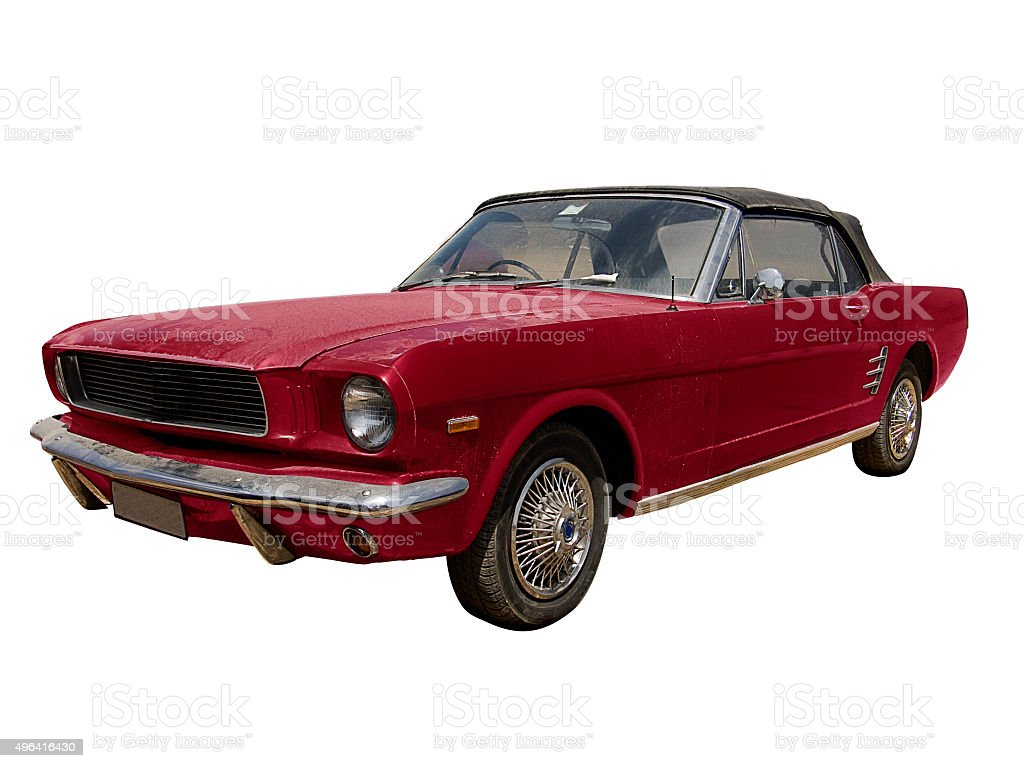 Ford Mustang Convertible stock photo