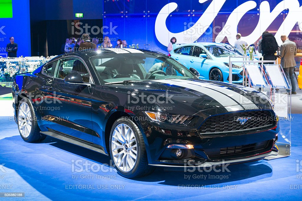 Ford Mustang Fastback Ecoboost Muscle Car stock photo