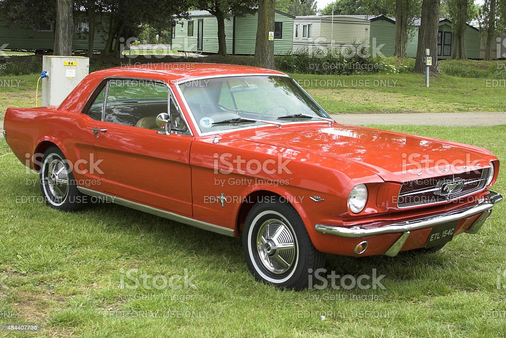 Ford Mustang from 1964 stock photo