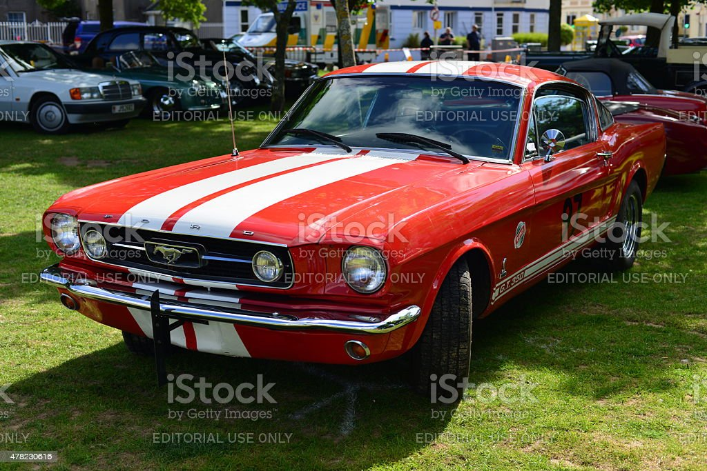 Ford Mustang GT500 Cobra Shelby. stock photo
