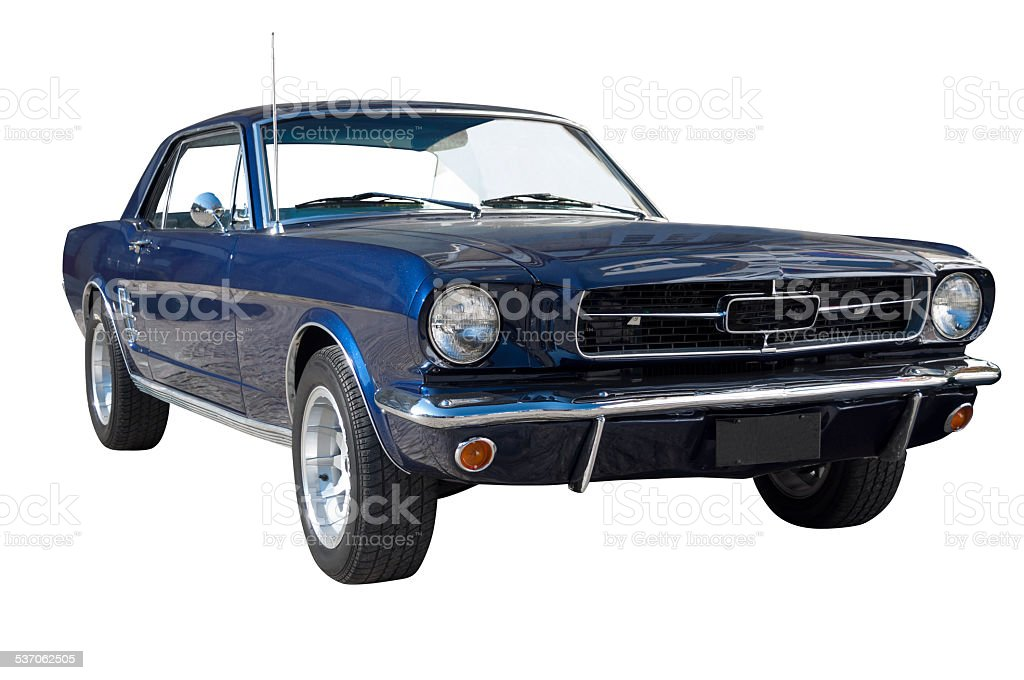 Ford Mustang Coupe Hardtop stock photo