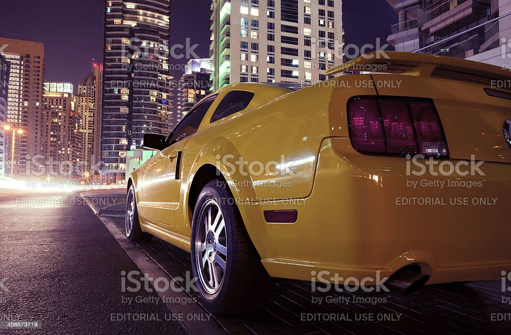 Ford Mustang model 2009 stock photo