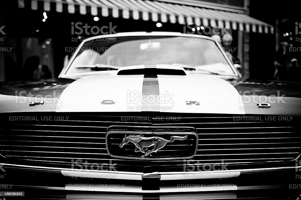 Ford Mustang royalty-free 스톡 사진
