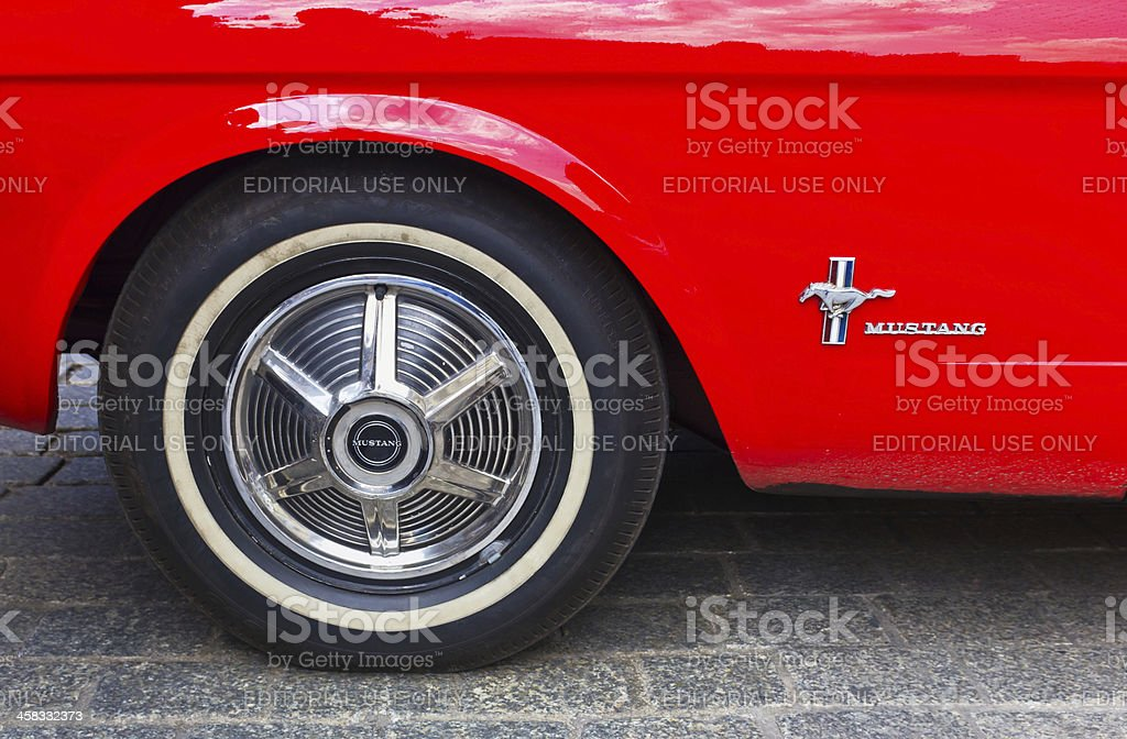 Ford Mustang royalty-free stock photo