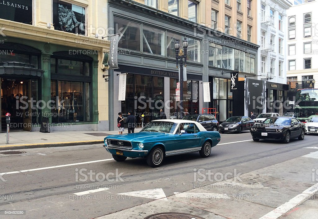 Ford Mustang Shelby GT350 stock photo