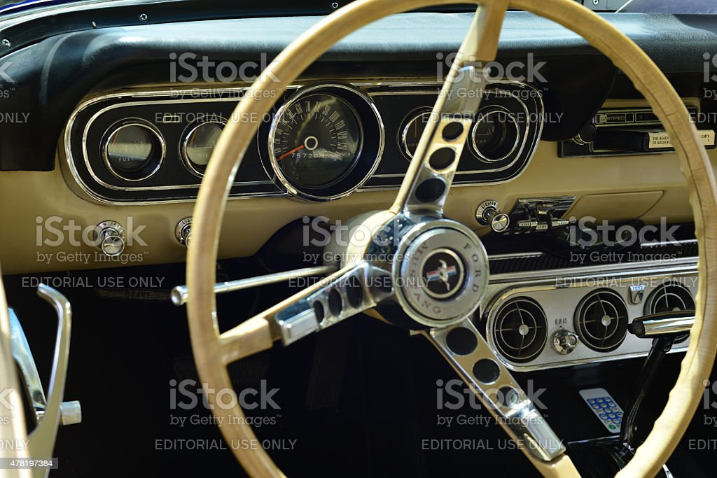 Ford Mustang, U.K. stock photo