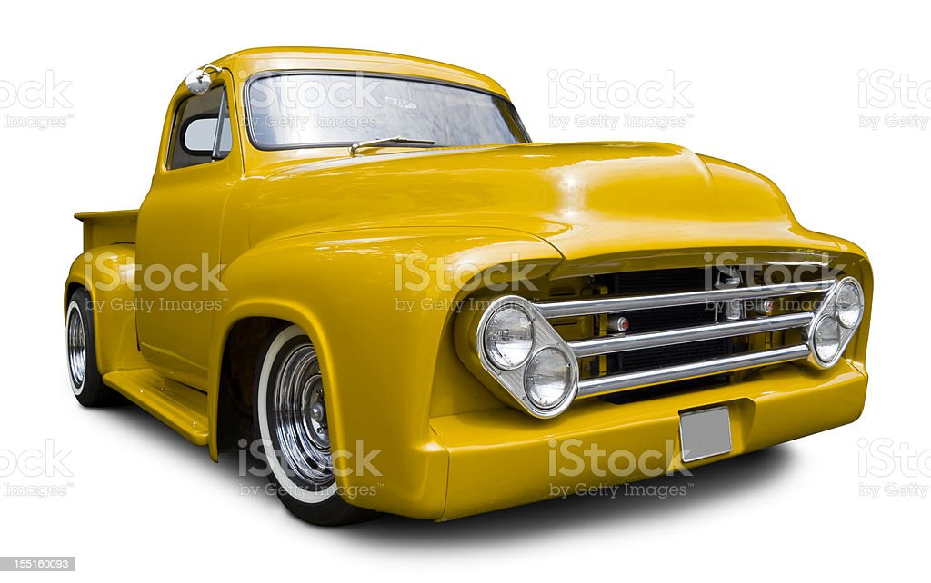 Ford Pick-up Truck from 1950's stock photo