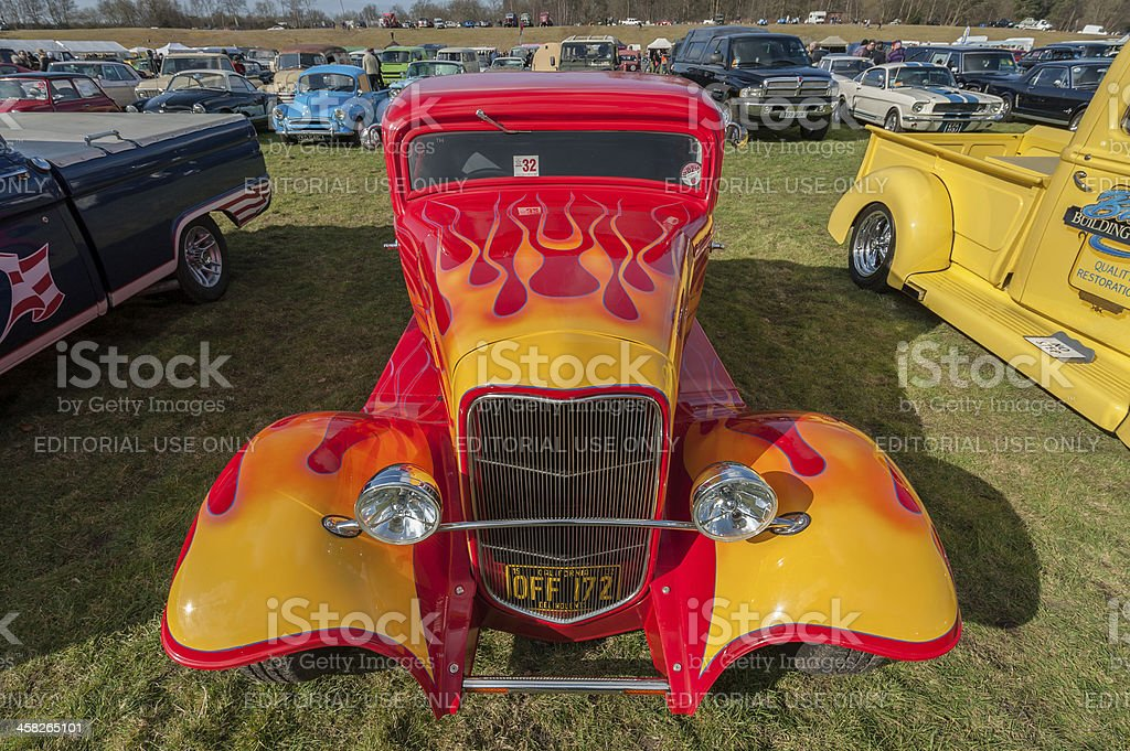 Ford Popular Hot Rod stock photo