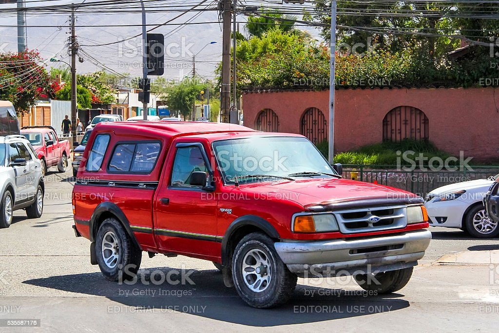 Ford Ranger stock photo