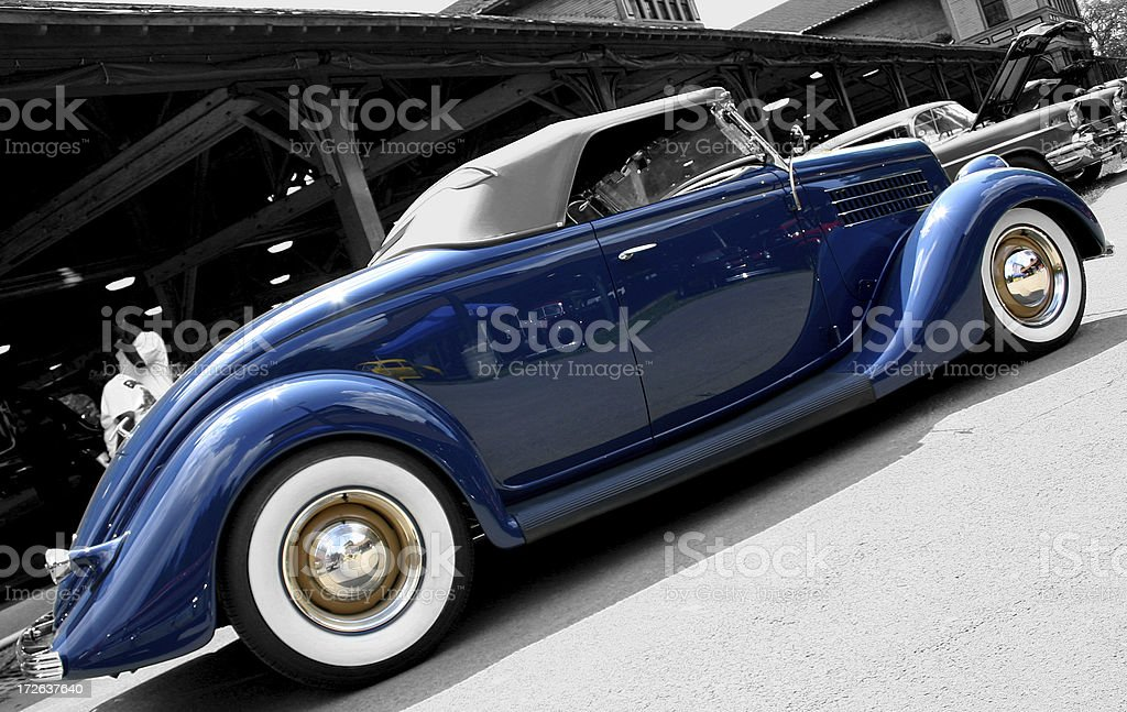 Ford Roadster (1935) stock photo