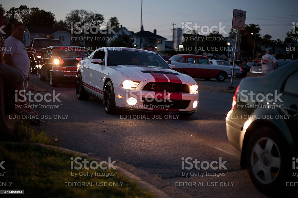 Ford Shelby GT 500 Mustang stock photo