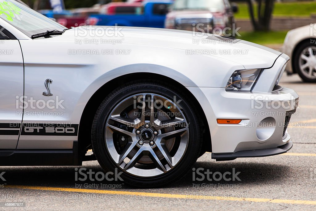 Ford Shelby GT500 royalty-free stock photo