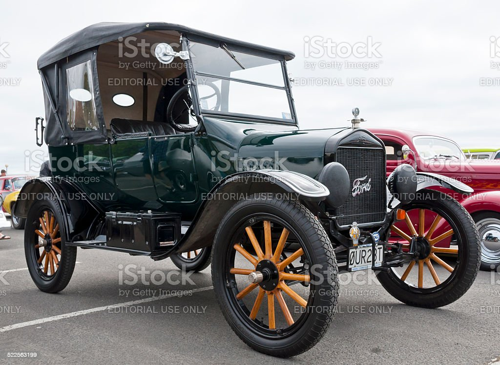 Ford T from 1923 stock photo
