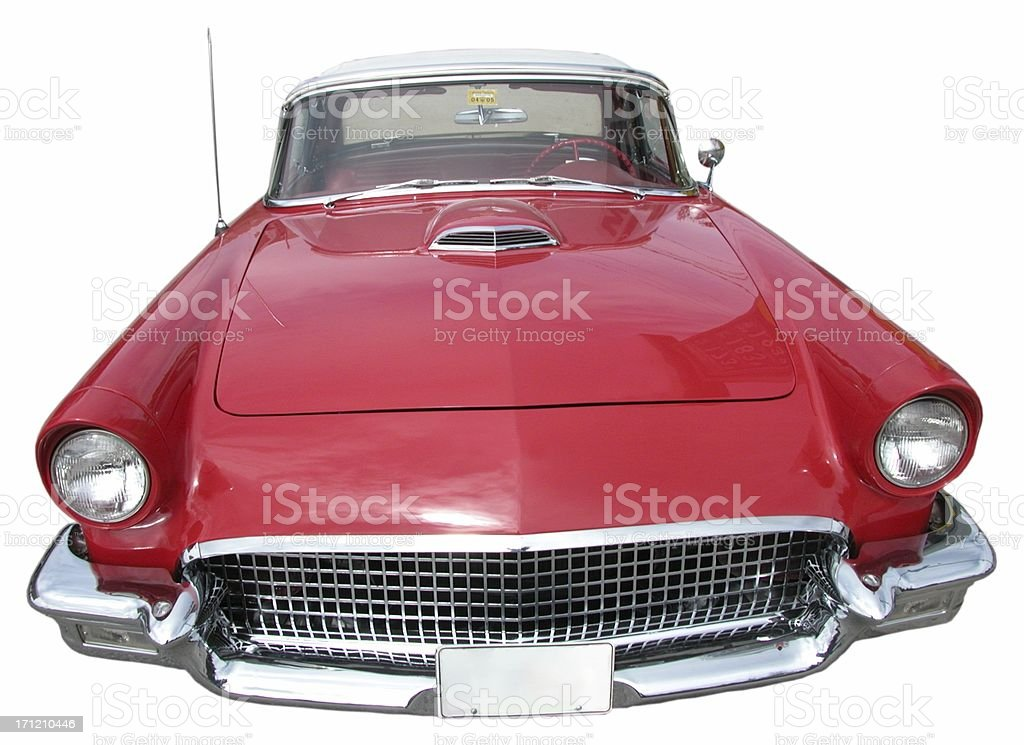 Ford TBird stock photo