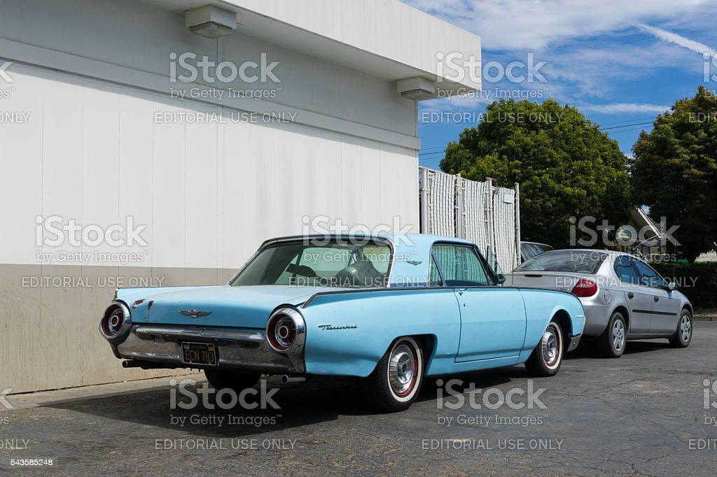 Ford Thunderbird 1957 stock photo