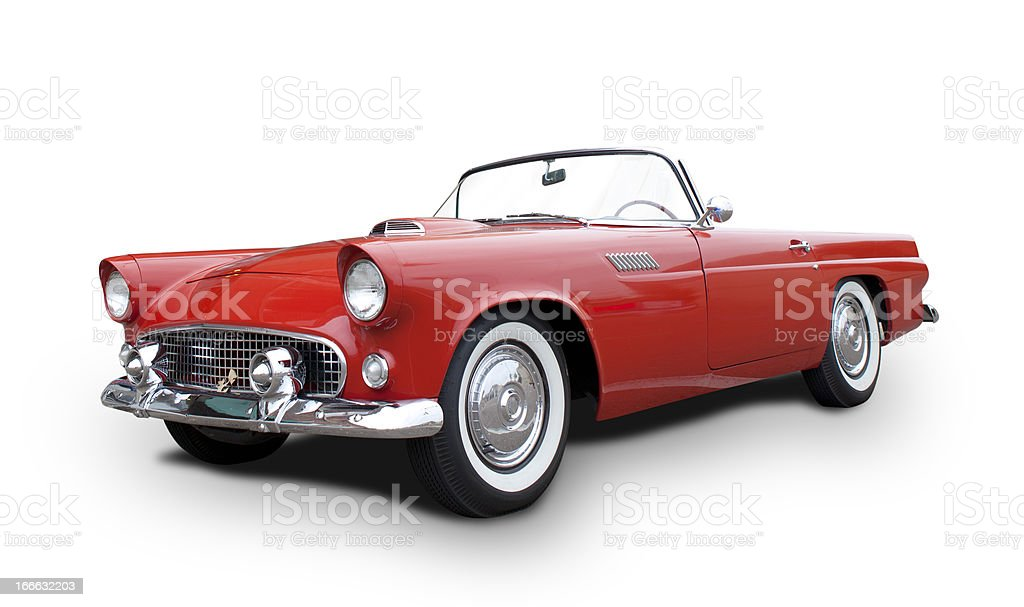 Ford Thunderbird stock photo