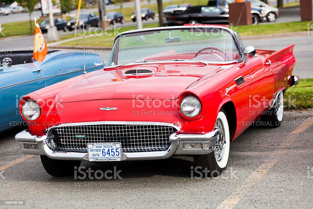 Ford Thunderbird stock photo