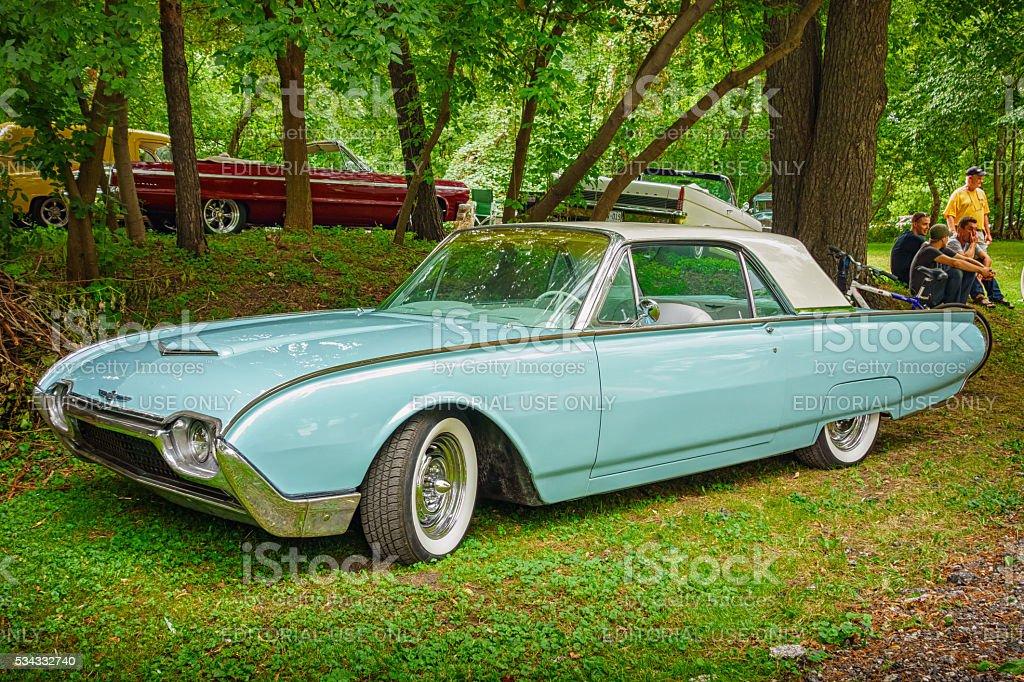 1962 Ford Thunderbird stock photo